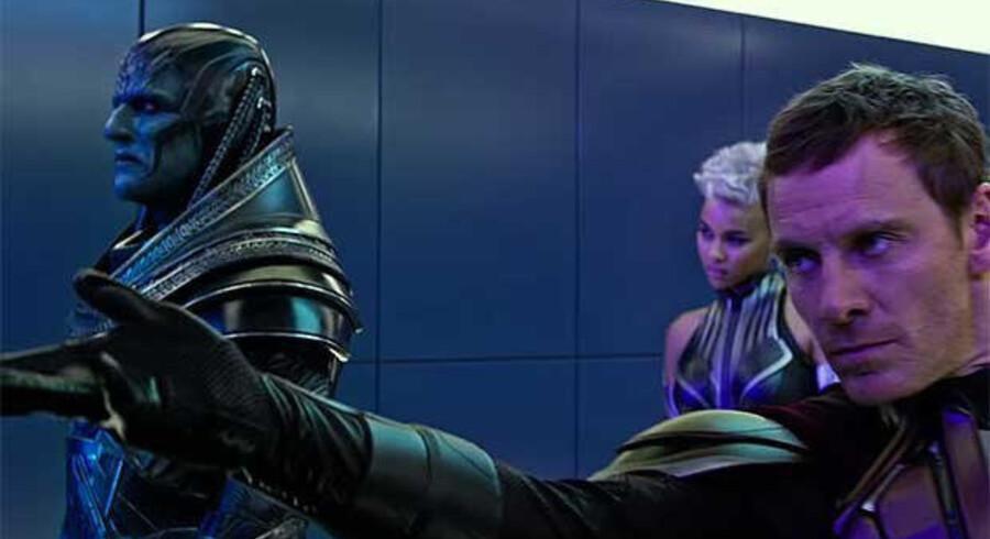 Der er god underholdning i den nye X-Men-film. PR-foto