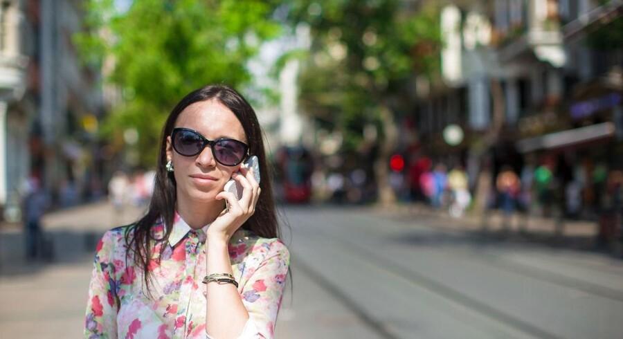 »3« afskaffer udlandspriserne på mobil tale og data i endnu fire - faktisk seks - lande for at tiltrække flere kunder. Arkivfoto: Scanpix/Iris