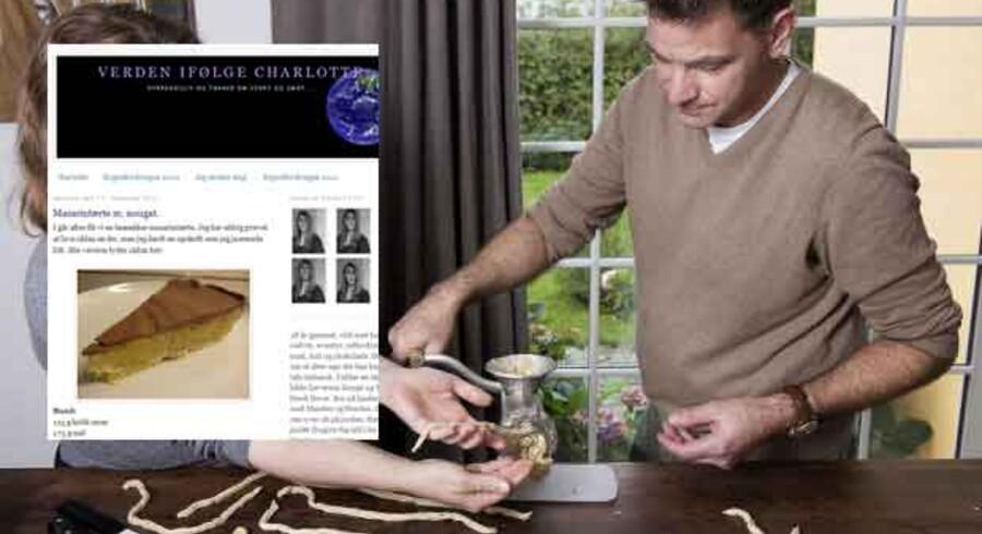 Her ses et billede af Michelin-kokken Henrik Yde, der laver vanillekranse. Den opskrift, som Henrik Yde har delt allermest med sine venner, er dog Charlotte Willemoes' mazarintærte.