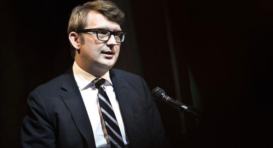 Arkivfoto: Erhvervs- og vækstminister Troels Lund Poulsen (V) lancerede onsdag det nye vækstteam, Det Blå Danmark.