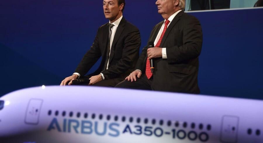 Airbus leverede sidste år 688 fly, hvilket var 53 flere end året før, mens Boeing med 748 leverede fly fortsat kan kalde sig verdens største flyproducent.