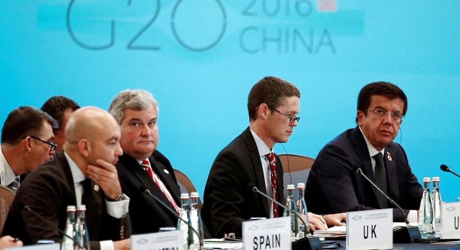 G20-repræsentanterne forhandlede om øge samarbejdet om investeringer for at øge indsatsen for at stimulere den globale handel, sagde Gao Hucheng på søndagens briefing.