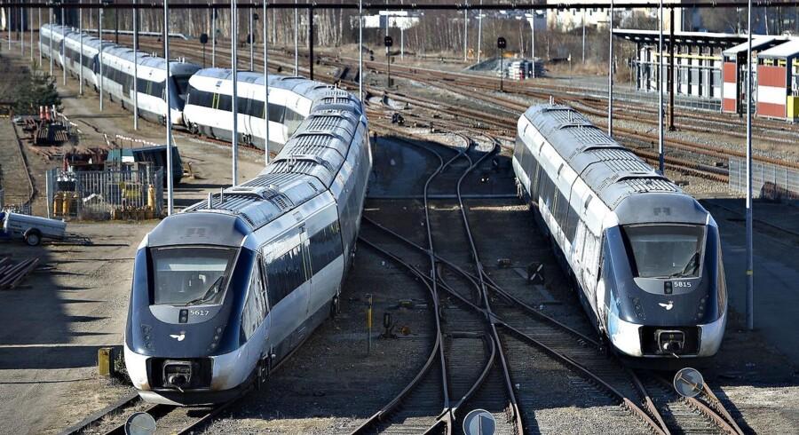 Banedanmark vurderer, at det ikke er realistisk at gennemføre togtrafik, hvis strejker bliver en realitet.