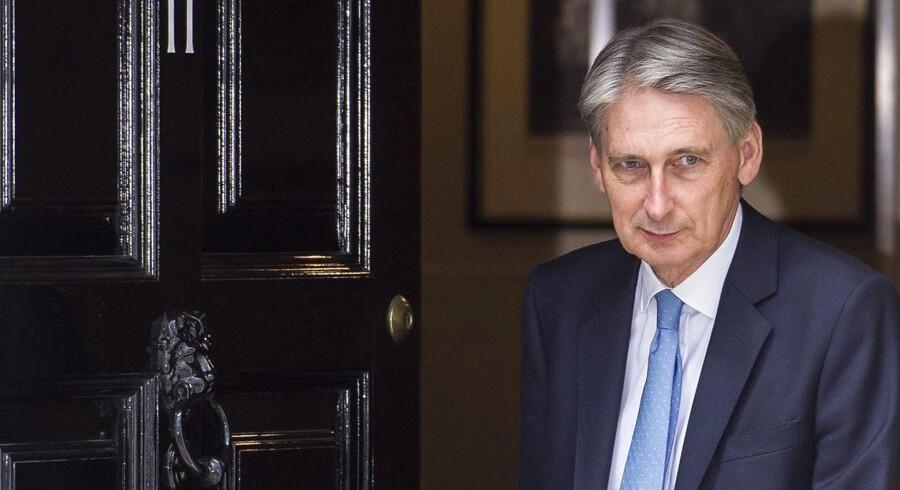 Den nyudnævnte finansminister, Philip Hammond.
