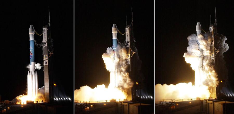 I 2014 blev Messenger sendt op fra Kennedy Space Center i Florida. Torsdag når den sit mål: Planeten Merkur.