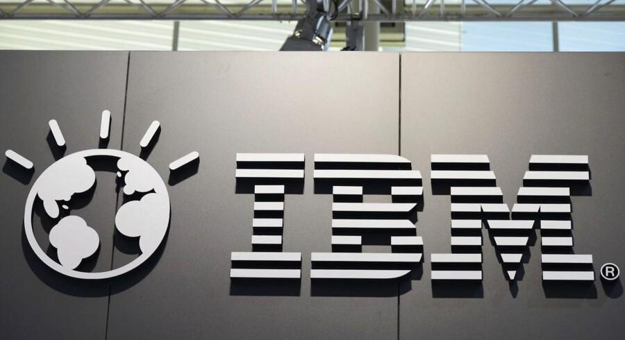 Mandag: I mandags gik der rygter om, at IBM var igang med at planlægge verdens største fyringsrunde - flere end 110.000 stillinger skulle forsvinde og de ville dermed slår sin egen fyringsrekord. IBM udtalte i tirsdags, at der ikke er hold i rygterne. Arkivfoto: Mauritz Antin, EPA/Scanpix