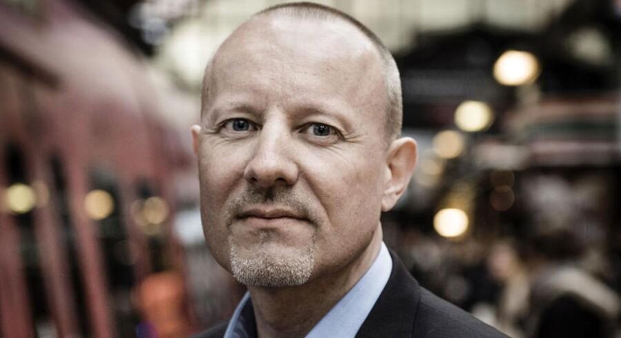 """Ny direktør hos DSB Ejendomme Jes Transbøl. DSB Ejendomme har mange, mange ejendomme og vil """"aktivere"""" bygningerne, blandt andet butiiks- og cafeomådet i Hovedbanegården i København."""
