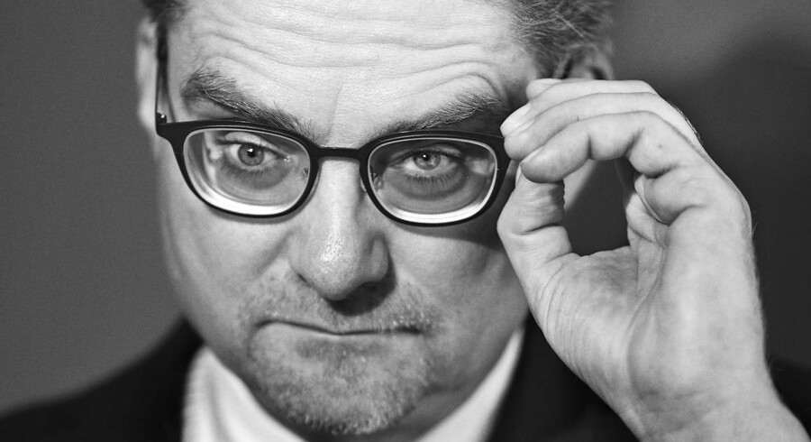 Portræt af Danmarks justitsminister Søren Pind, fotograferet i justitsministeriet. (Foto: Simon Skipper/Scanpix 2016)