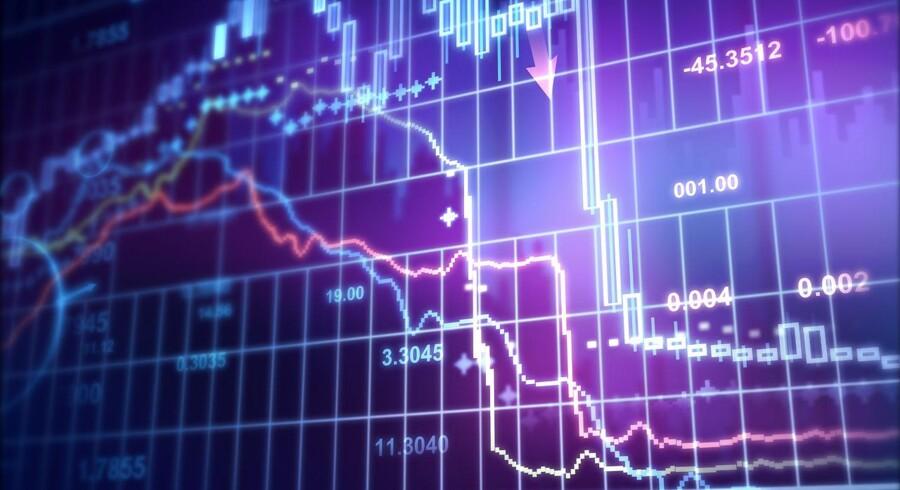Der er udsigt til rentefald på obligationsmarkedet på en nøgletalstung fredag. Foto: Iris.
