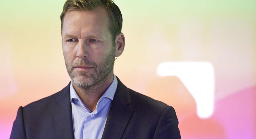 Telias topchef, Johan Dennelind, har haft den helt store tegnebog fremme i denne uge og har fredag gjort sit andet milliardopkøb. Arkivfoto: Janerik Henriksson, TT/AFP/Scanpix
