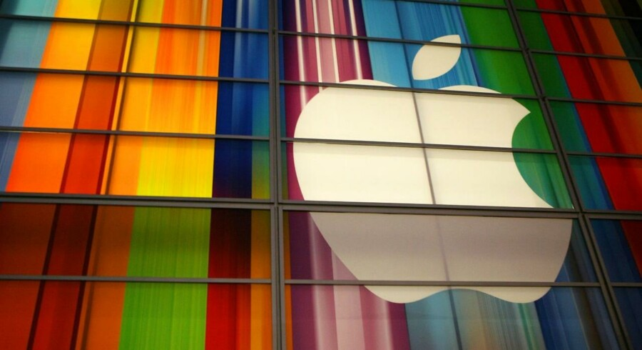 Et forventet godt julesalg er med til at trække Apple-aktien i vejret. Apple er nu blevet dobbelt så meget værd, som da Tim Cook tog over som topchef. Arkivfoto: Kimihiro Hoshino, AFP/Scanpix