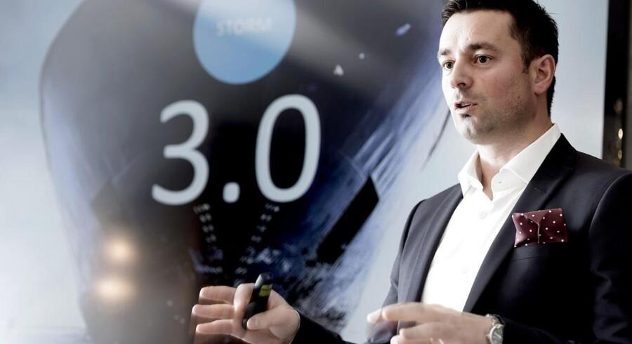 Telenors danske topchef, Marek Slacik, præsenterede for få uger siden tredje trin i telekoncernens store omlægning, der går under navnet Storm, og planen ser ud til at virke. Arkivfoto: Keld Navntoft, Scanpix