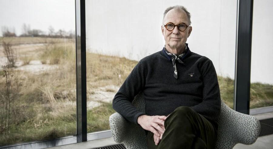 """Portræt af Christian Gether, direktør for kunstmuseet Arken. Fotograferet til konceptet """"Så er det sagt""""."""