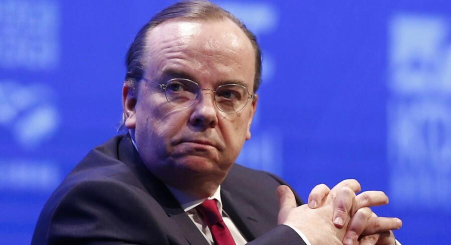 Stuart Gulliver, topchef for den største bank i Europa, HSBC.