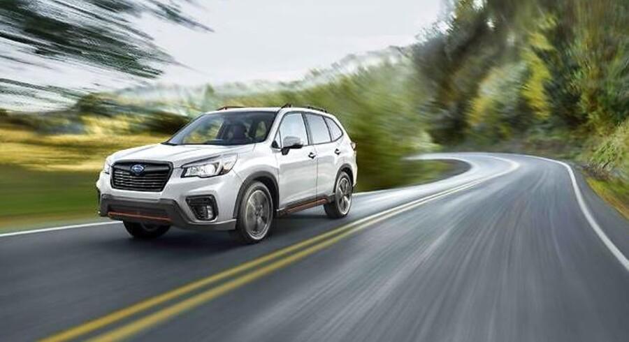 Forester er Subarus SUV i mellemklassen, og den nye udgave vil stå stærkere med langt mere sikkerhedsudstyr og højere komfort