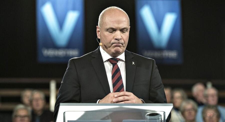 Er Søren Gades udmelding en genopliven af formandsopgøret i 2014? Foto: Henning Bagger / Scanpix 2016