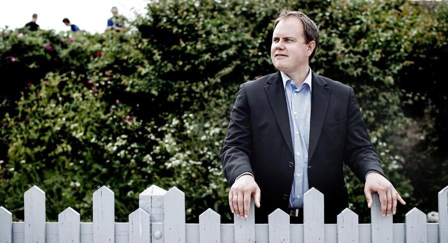 DFs Martin Henriksen roser byråddet i Randers for at sætte grænsen for, »hvor meget islamiske regler skal fylde i vores hverdag«. Foto: Bax Lindhardt, arkivfoto