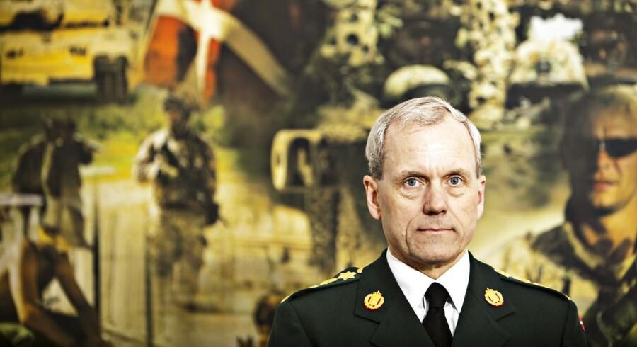 General Knud Bartels - sendte et brev....