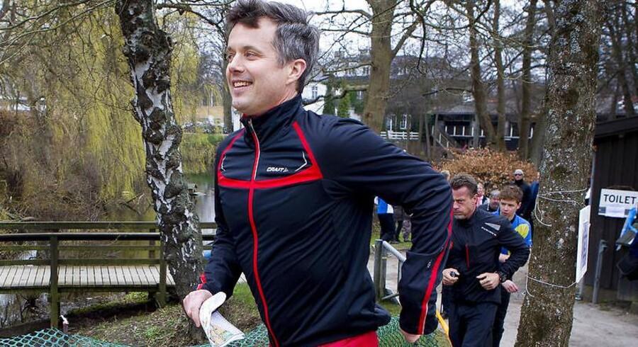 Arkivfoto. Kronprins Frederik trækker i løbetøjet til Royal Run i anledningen af sin 50-års fødselsdag.