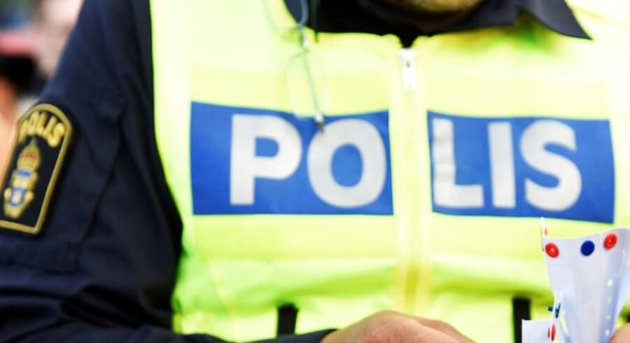 Arkivfoto: Politiaktionen betyder ifølge det svenske medie Aftonbladet, at alt togtrafik til og fra den svenske hovedstad onsdag morgen er påvirket af forsinkelser og aflysninger.