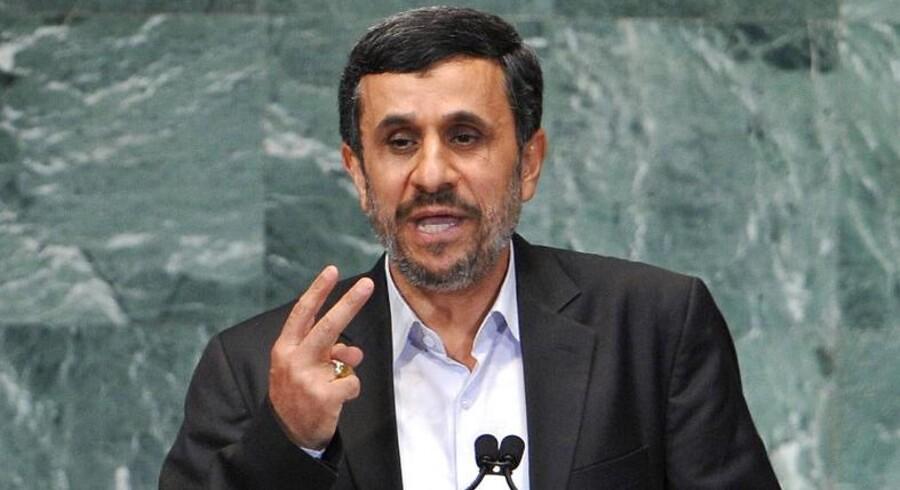 Irans præsident Mahmoud Ahmadinejad.