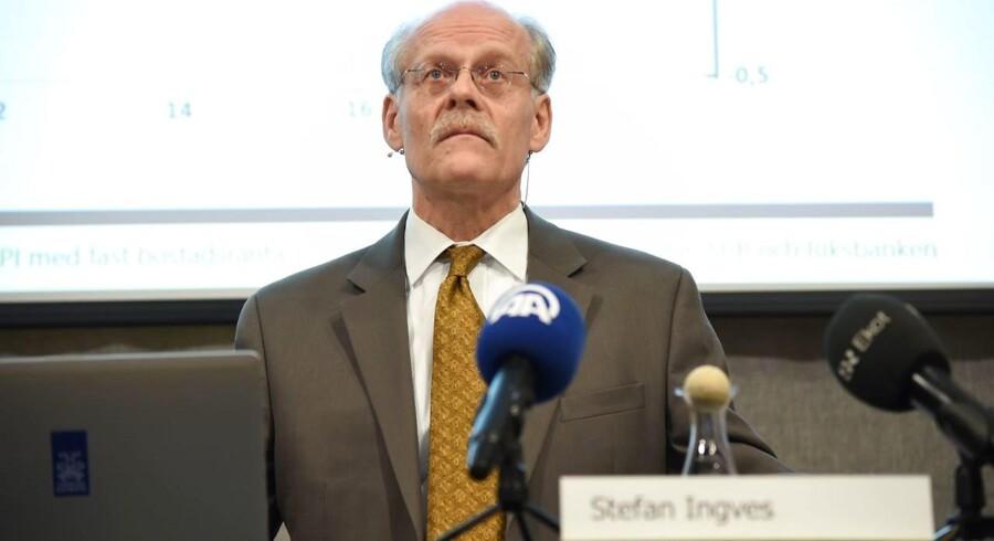 Stefan Ingves, direktør for den svenske centralbank, Riksbanken.