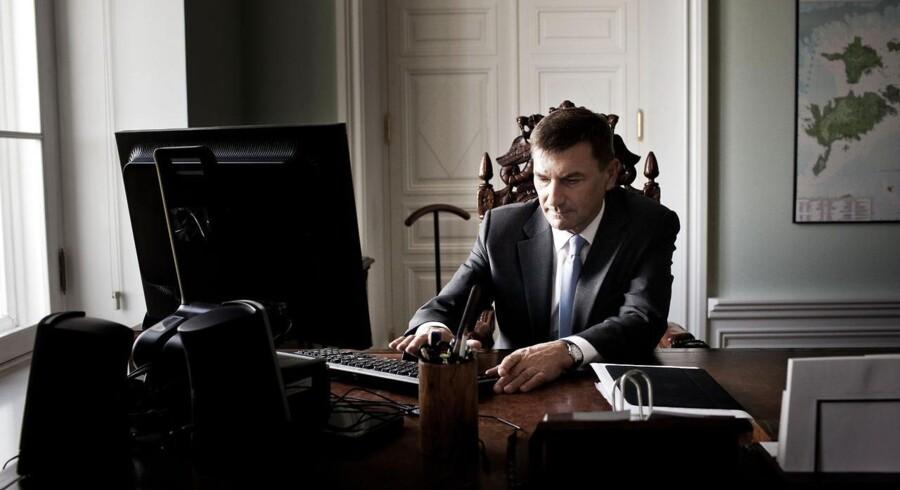 Estlands premierminister gennem ni år, Andrus Ansip, bliver en af de fem superkommissærer i EU og får ansvaret for at skabe et digitalt, indre marked. Han har været med til at bringe Estland i den digitale verdenselite. Arkivfoto: Asger Ladefoged, Scanpix
