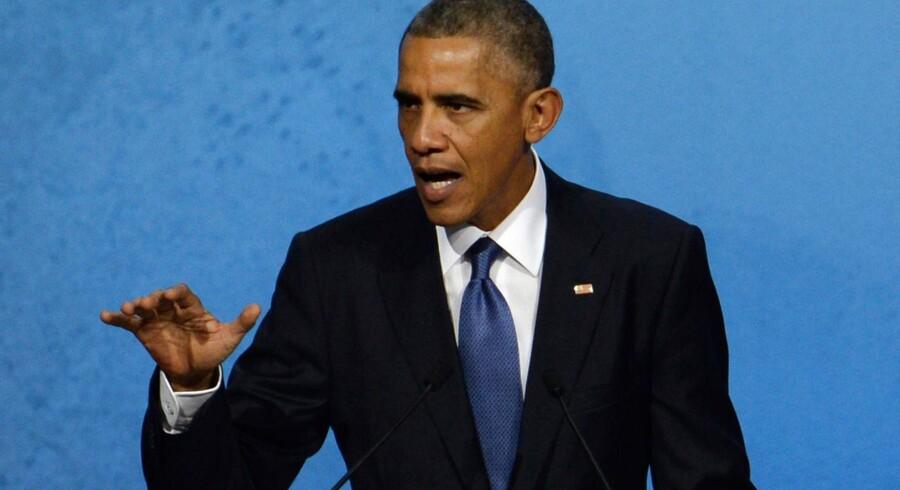 USAs præsident Barack Obama presser hårdt på for såkaldt netneutralitet.