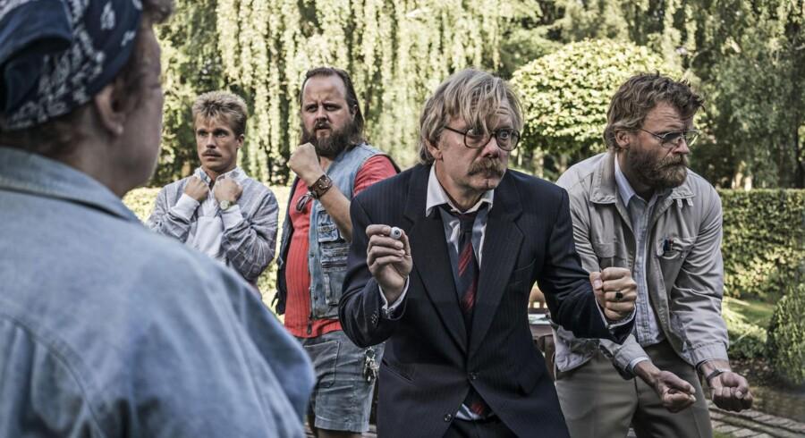 Fra Casper Christensen og Frank Hvams kommende film »Dan Dream«.