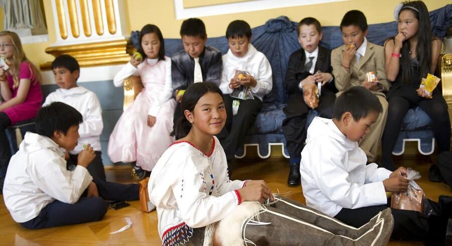 Grønlandsk undervisningsminister vil satse på engelsk (Foto: Keld Navntoft/Scanpix 2011)