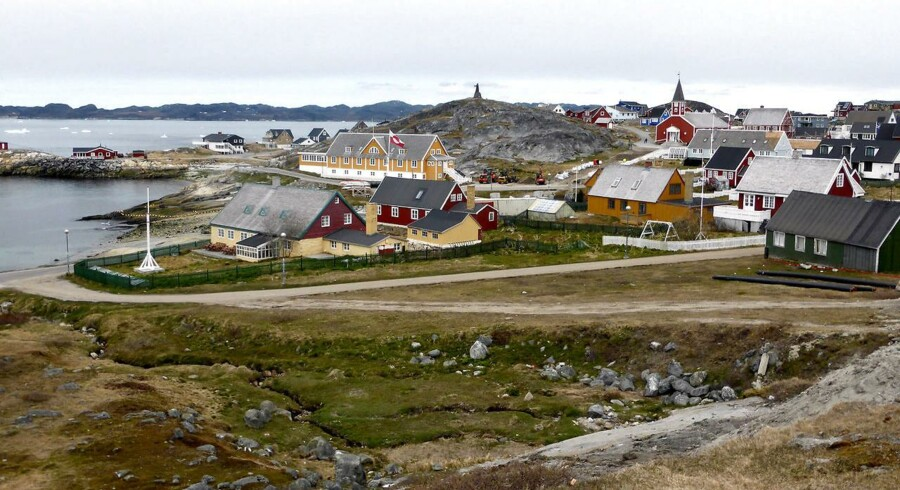 Tekle Ghebrelul var både træner for B-67 i Nuuk (billedet) og for landsholdet.