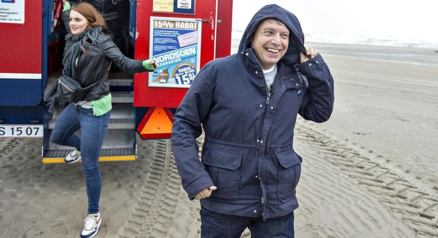 Partileder Uffe elbæk har grund til at smile i disse dage. Partiet står itl et overraksende godt valg.