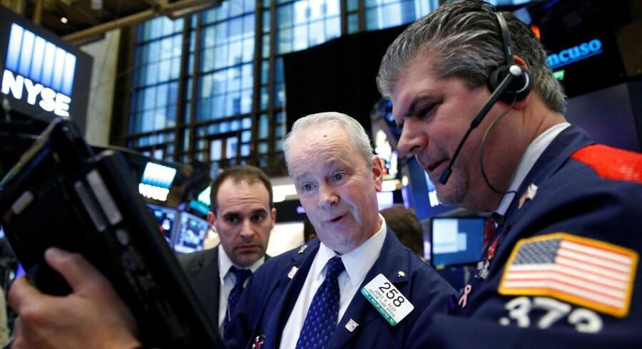 Arkivfoto. På de internationale obligationsmarkeder var der torsdag anselige rentehop som reaktionen på, at Donald Trump er blevet udpeget som USA's næste præsident.