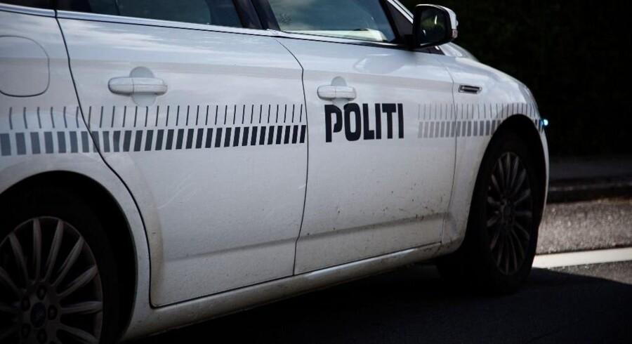 Politiet måtte afspærre en landevej nær Struer efter en voldsom ulykke onsdag. Free/Colourbox/arkiv