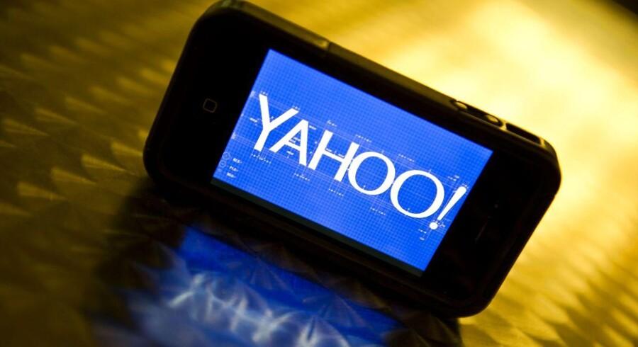 Den amerikanske internetsøgeportal Yahoo kunne ikke helt leve op til analytikernes forventninger i første kvartal. ARKIVFOTO