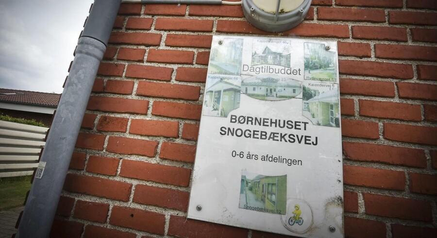 Arkivfoto: Sag fra Børnehuset Snogebæksvej i Aarhus V kommer nu for retten. 33-årig er blevet tiltalt.