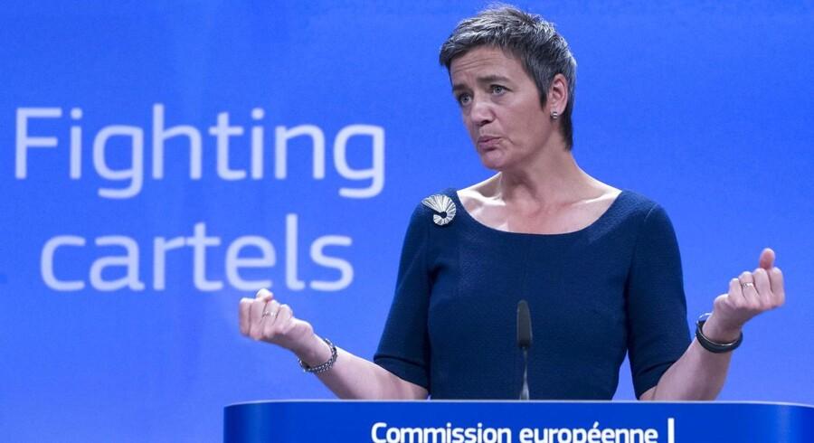 Vestager er ude efter endnu et stort internationalt firma for brud på EU's konkurrencevilkår