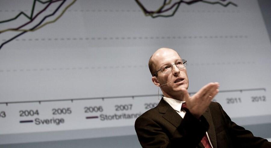 Det er nu, at bankerne skal lægge endnu flere penge til side, mener CBS-professor Jesper Rangvid.