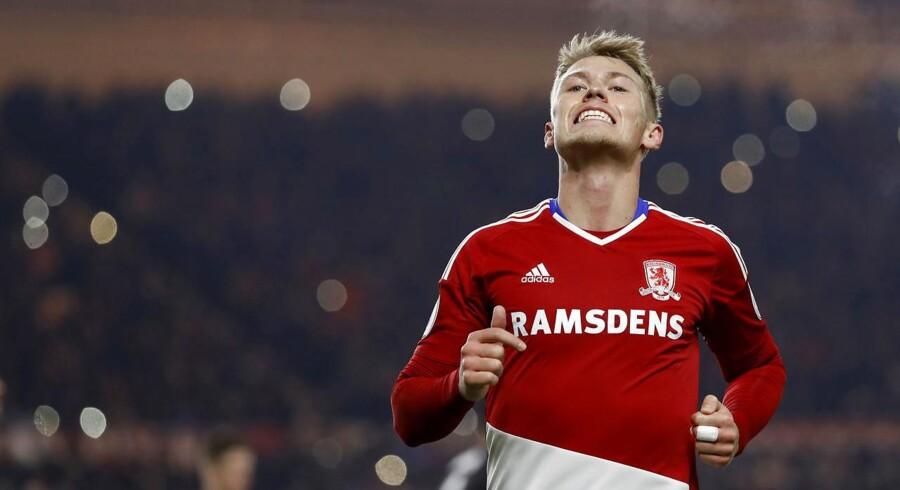 Viktor Fischer skifter Middlesbrough ud med Mainz