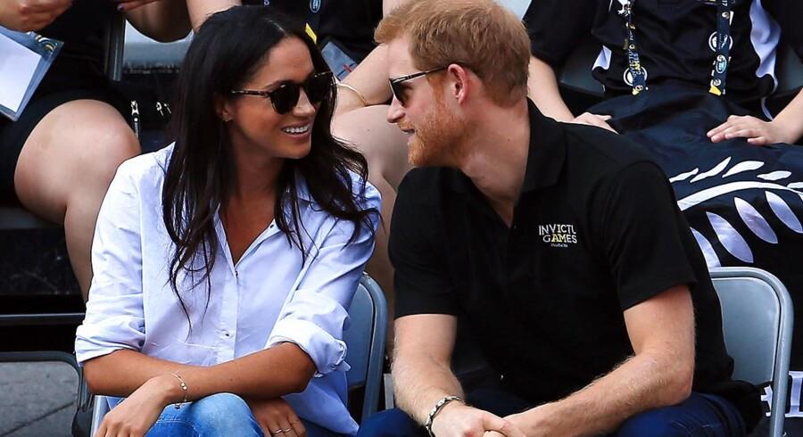 Arkivfoto: Den britiske prins Harry meddeler, at han skal giftes med den amerikanske skuespiller Meghan Markle.