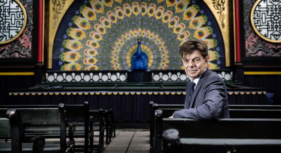 Lars Liebst, Tivolis topchef – er med til at udvikle ledelsesdogmerne. Foto Thomas Lekfeldt