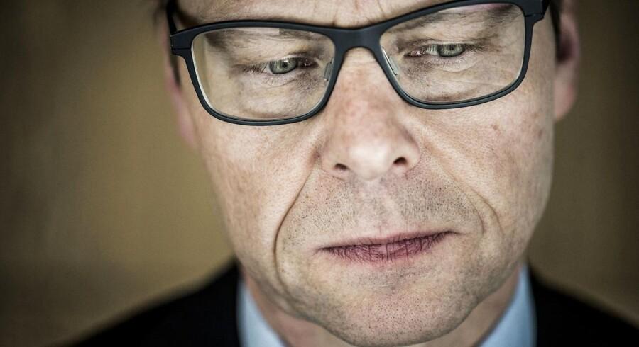 Michael Rasmussen, koncernchef i Nykredit, må desværre sande, at Nykredits image er i frit fald.
