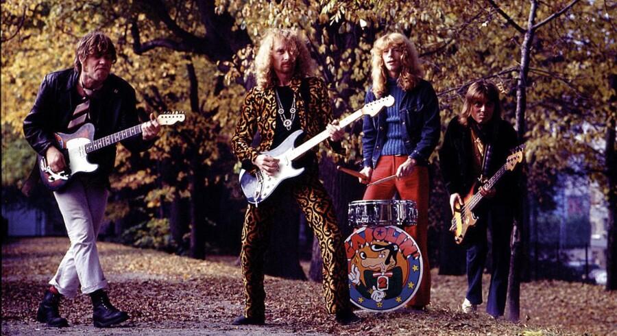 Det danske rockband Gasolin i 1970erne.