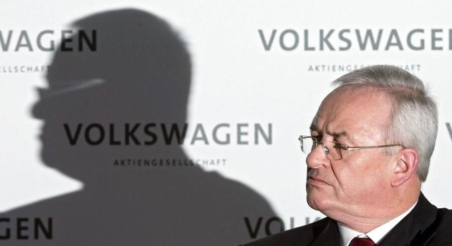 Forhenværende topchef i Volkswagen Martin Winterkorn