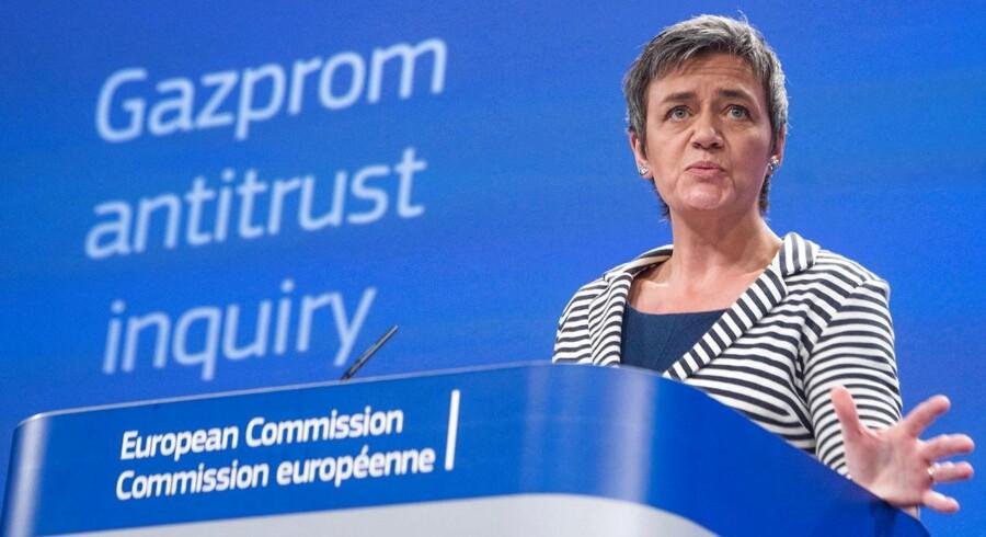 - Indtil videre har vi ikke haft nogle bekymringer i forbindelse med konkurrence specifikt forbundet til skabelse eller udvidelse af alliancer, siger Margrethe Vestager.