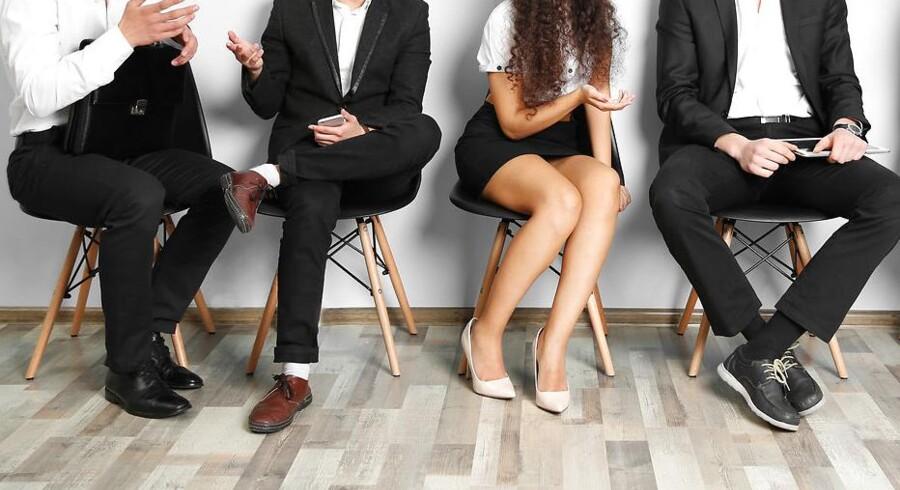 De fleste danskere sidder ned i store dele af dagen. Foto: Iris.