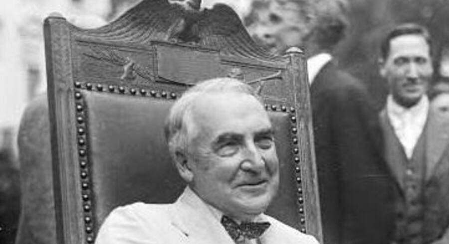 Warren G. Harding var USAs 29. præsident og ikke en stor en af slagsen – hvilket han godt selv var klar over. Til gengæld havde han talrige udenomsægteskabelige forhold, og skrev særdeles ligefremme kærlighedsbreve, hvilket amerikanerne fik at læse sidste sommer, da de blev offentliggjort.