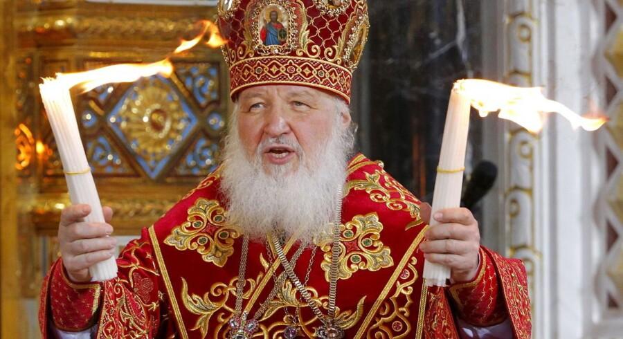 Pave Frans skal mødes med overhovedet for den russiskortodokse kirke, patriarken Kirill (billedet).