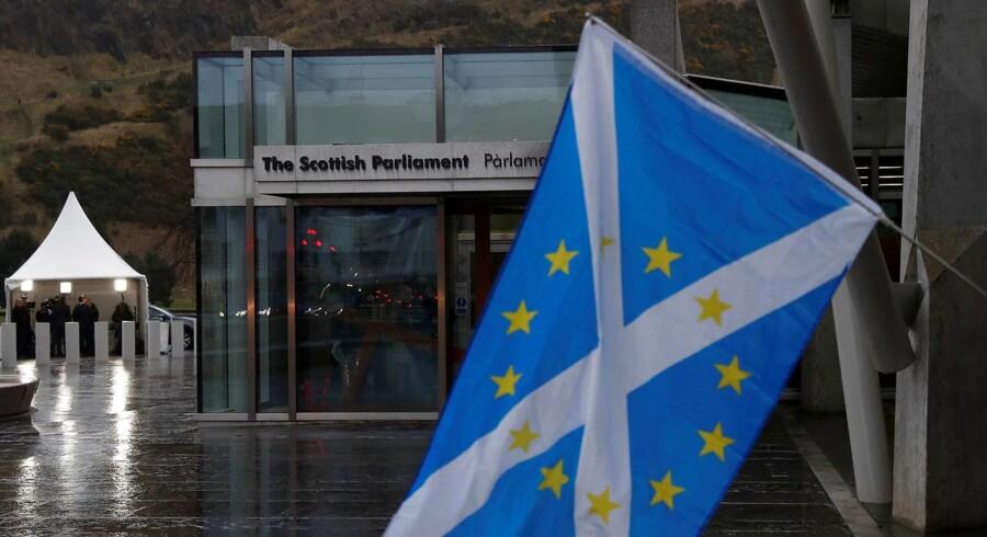 Det skotske parlament.
