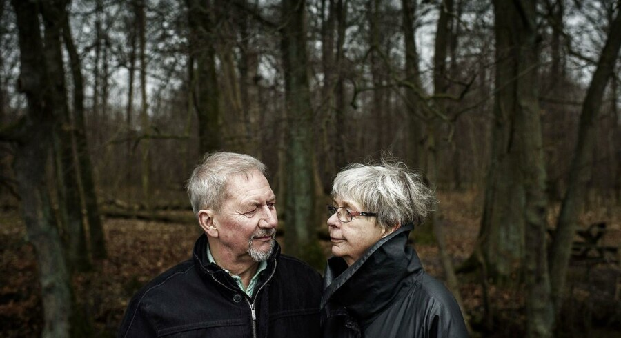 Jens-Ole og Lene Blak, der fik alvorlig sygdom ind på livet, da Jens-Ole for fem år siden fik konstateret demens.